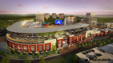 SunTrust Park, Atlanta Braves Stadium